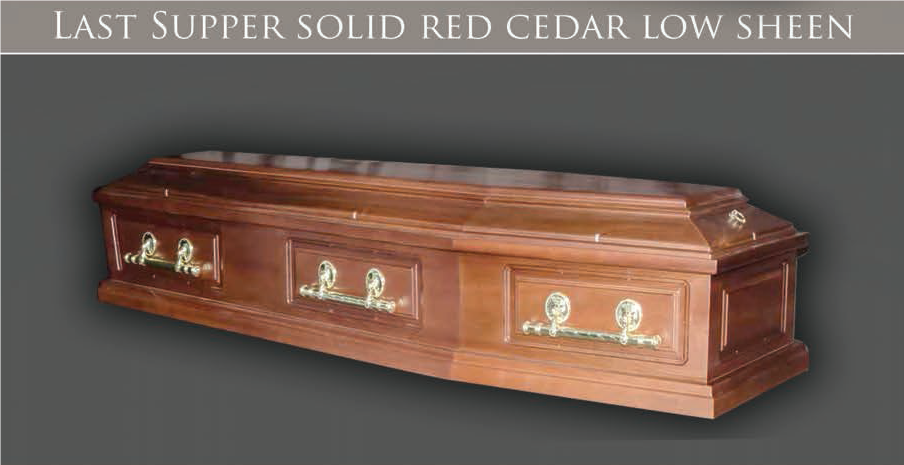 Last Supper Solid Red Cedar Low Sheen