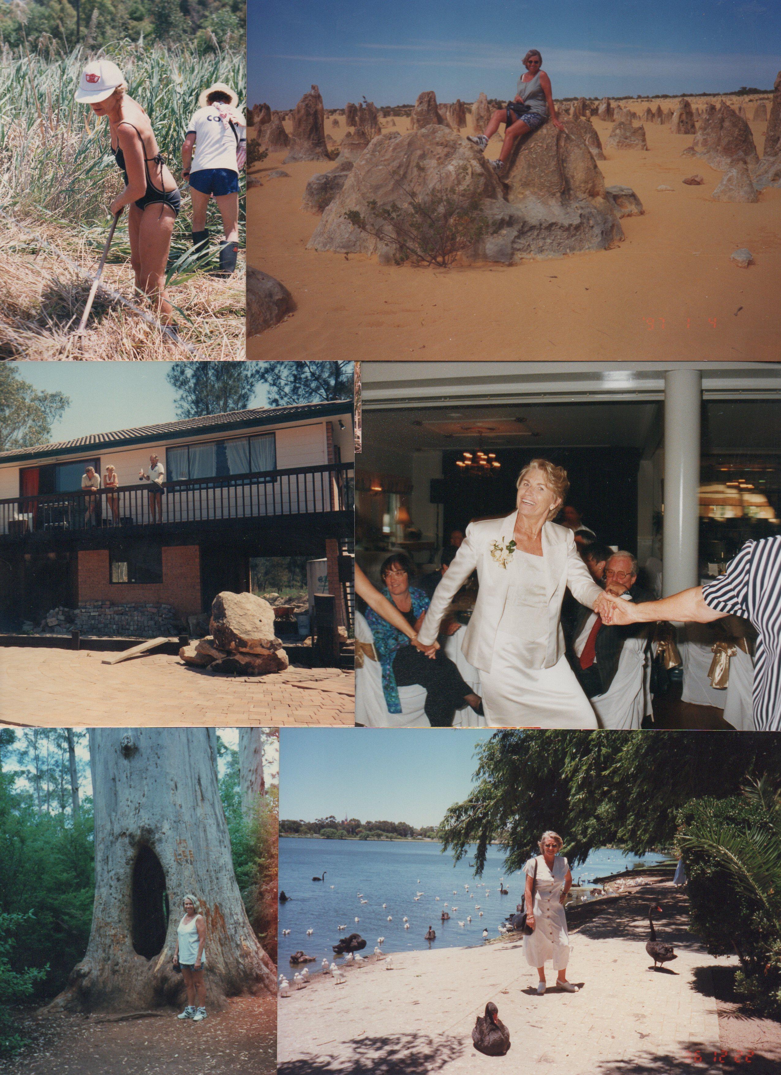 Arnold, Lisa, Andrea', Lindsey and Bella Van Houten.